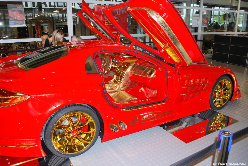 anliker slr dubai Mclaren Red Gold Dream e modifikuar nga zvicerianet perfundon ne Dubai