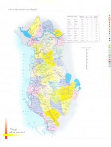 Harta e Qyteteve dhe Fshatrave Shqiptare