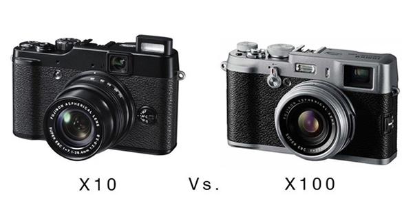 Fujifilm X10 dhe Fujifilm X100