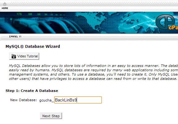 Krijojme Database-in