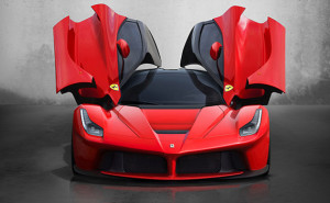 Ferrari La Ferrari dyert e hapura