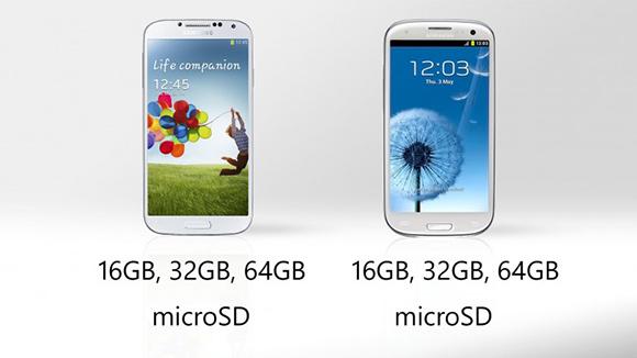 Memorja e Galaxy S4