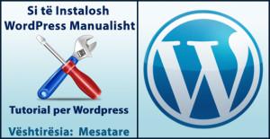 si te instalosh wordpress manualisht