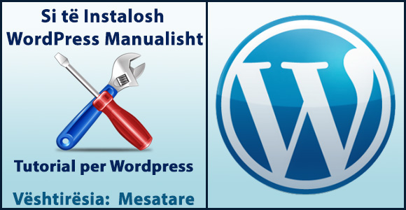 si te instalosh wordpress manualisht