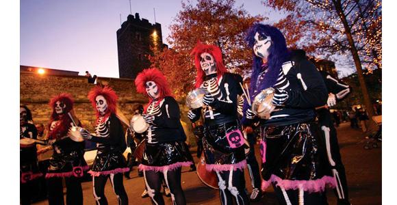 halloween parada