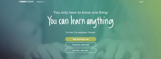 Khan Academy 15 Faqet me te mira per te mesuar online FALAS
