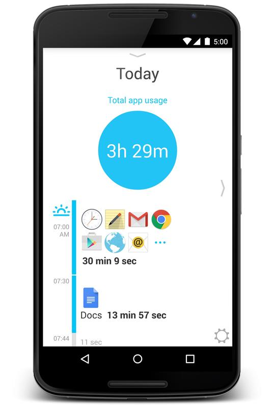 aplikacion per matjen e kohes